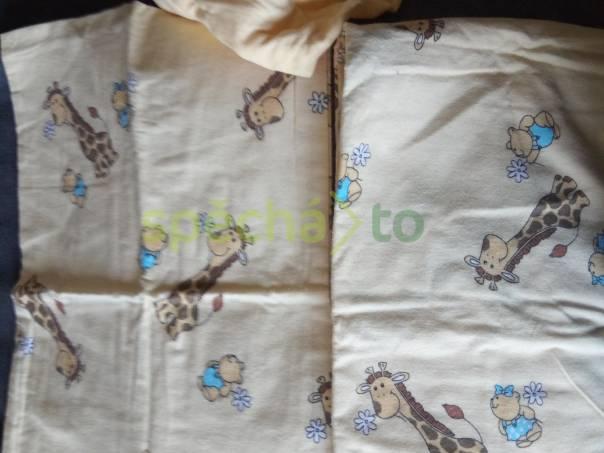 Nové kojenecké povlečení flanel prostěradlo deka., foto 1 Pro děti, Dětské oblečení  | spěcháto.cz - bazar, inzerce zdarma