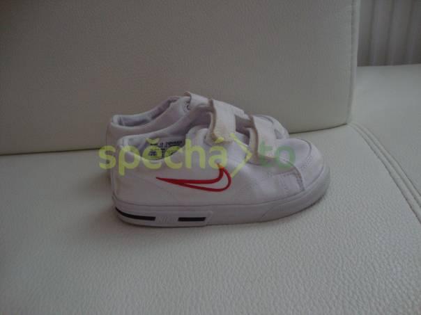 Nabízím látkové tenisky zn.Nike, foto 1 Pro děti, Dětská obuv  | spěcháto.cz - bazar, inzerce zdarma