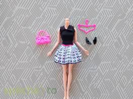 NOVÉ! Set pro panenku Barbie, šaty+boty+kabelka+ram. , Pro děti, Hračky  | spěcháto.cz - bazar, inzerce zdarma