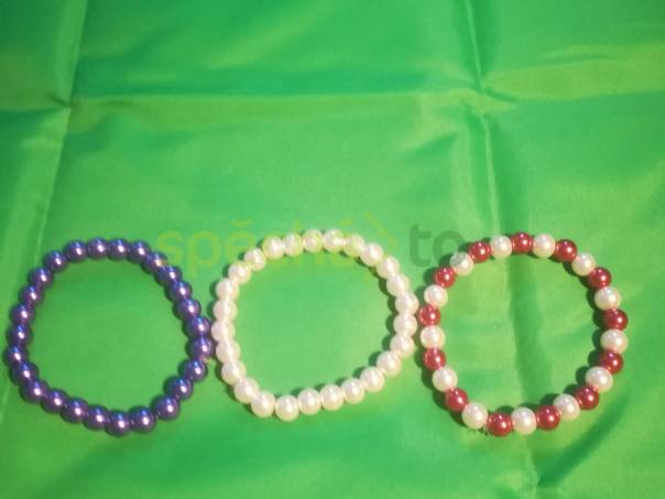 Náramek z korálků , foto 1 Modní doplňky, Šperky a bižuterie | spěcháto.cz - bazar, inzerce zdarma