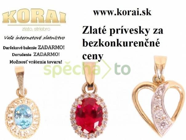 Prívesky zo žltého zlata KORAI 2206436321f