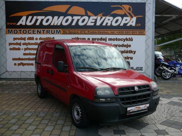 Fiat Dobló cargo 1,3 JTD Multijet, foto 1 Užitkové a nákladní vozy, Do 7,5 t | spěcháto.cz - bazar, inzerce zdarma