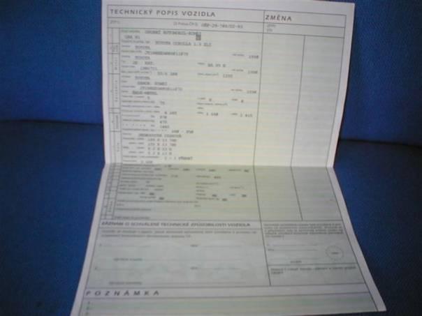 Toyota Corolla 1.4 XLi, foto 1 Náhradní díly a příslušenství, Ostatní | spěcháto.cz - bazar, inzerce zdarma