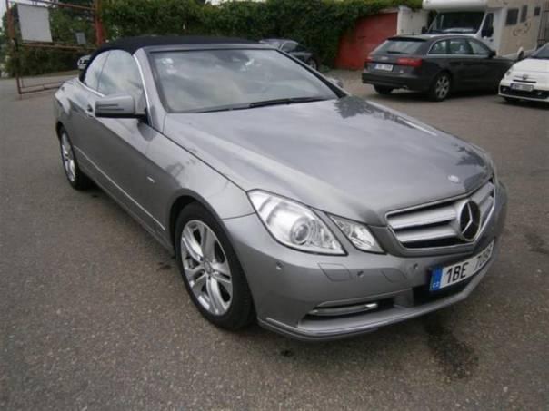 Mercedes-Benz Třída E 250 CDI  150 kW  KABRIOLET, foto 1 Auto – moto , Automobily | spěcháto.cz - bazar, inzerce zdarma