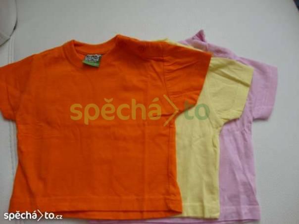 triko kr.rukáv- 3ks v balení, foto 1 Pro děti, Dětské oblečení  | spěcháto.cz - bazar, inzerce zdarma