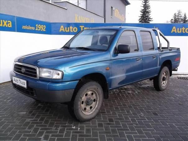 Mazda B 2.5 D DoubleCAB 4x4 volejte př, foto 1 Užitkové a nákladní vozy, Do 7,5 t | spěcháto.cz - bazar, inzerce zdarma