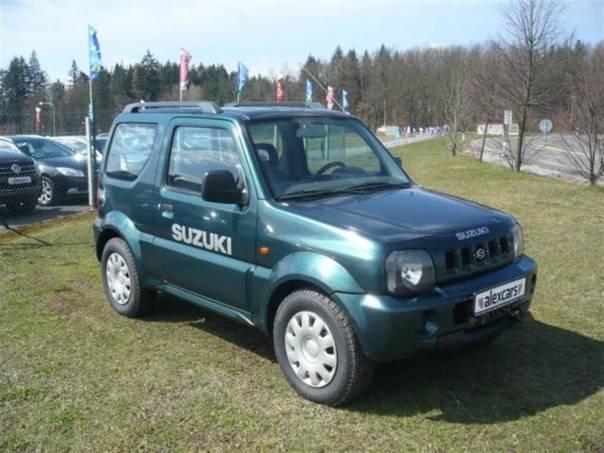 Suzuki Jimny 1.3 i, TAŽNÉ ZAŘÍZENÍ, NAVIJÁK, foto 1 Auto – moto , Automobily | spěcháto.cz - bazar, inzerce zdarma