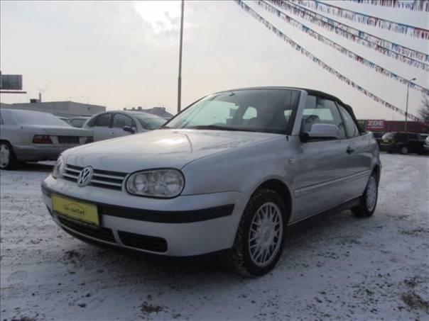 Volkswagen Golf 1.6 i CABRIO TOP STAV , foto 1 Auto – moto , Automobily | spěcháto.cz - bazar, inzerce zdarma