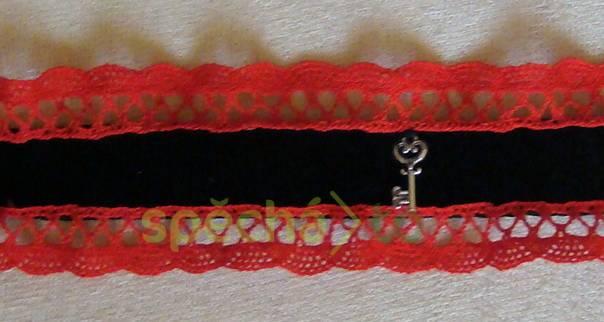 náhrdelník sametka krajka obojek , foto 1 Modní doplňky, Šperky a bižuterie | spěcháto.cz - bazar, inzerce zdarma