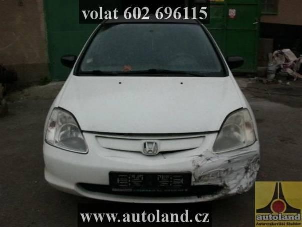 Honda Civic 1,6, foto 1 Náhradní díly a příslušenství, Ostatní | spěcháto.cz - bazar, inzerce zdarma