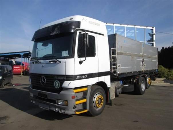 2540 Actros sklopka 6x2, foto 1 Užitkové a nákladní vozy, Nad 7,5 t | spěcháto.cz - bazar, inzerce zdarma