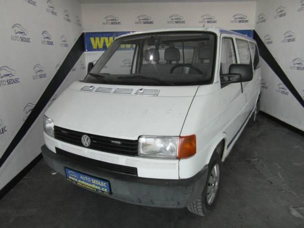 Volkswagen Transporter 2.4D,6míst, foto 1 Užitkové a nákladní vozy, Do 7,5 t | spěcháto.cz - bazar, inzerce zdarma