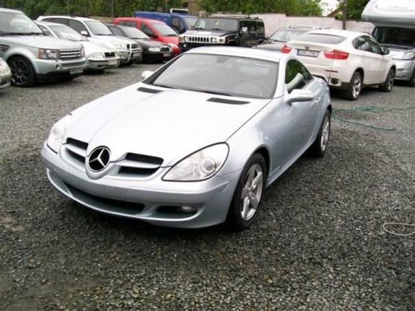 Mercedes-Benz Třída SLK 2,8i V6, foto 1 Auto – moto , Automobily | spěcháto.cz - bazar, inzerce zdarma