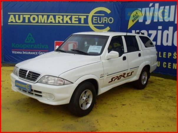 SsangYong MUSSO 602 TD Sports, foto 1 Auto – moto , Automobily | spěcháto.cz - bazar, inzerce zdarma