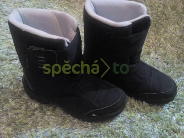 zimní boty Quechua / Decathlon vel. 37, foto 1 Pro děti, Dětská obuv  | spěcháto.cz - bazar, inzerce zdarma