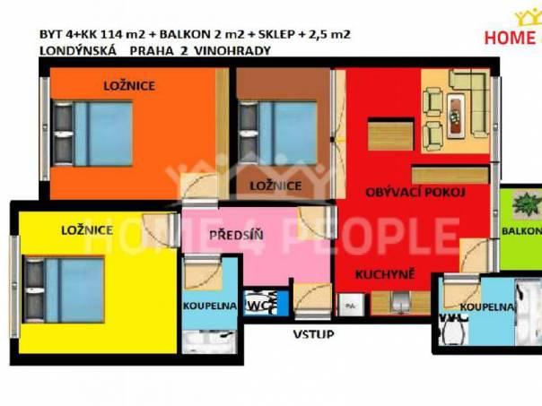 Prodej bytu 4+kk, Praha 2, foto 1 Reality, Byty na prodej | spěcháto.cz - bazar, inzerce