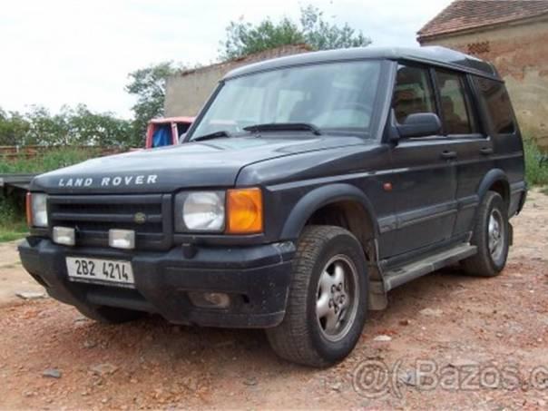 Land Rover Discovery Discovery 2td 5 - rozprodám na náhradní díly, foto 1 Auto – moto , Náhradní díly a příslušenství | spěcháto.cz - bazar, inzerce zdarma