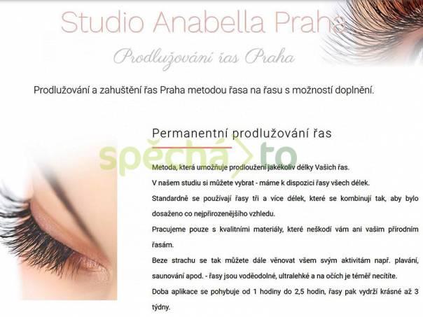 Prodlužování řas studio Anabella Praha, foto 1 Wellness a péče o zdraví, Kosmetika | spěcháto.cz - bazar, inzerce zdarma