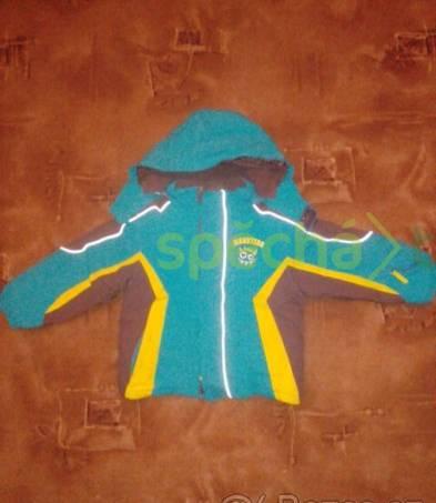 chlapecká zimní bunda vel 110, foto 1 Pro děti, Dětské oblečení  | spěcháto.cz - bazar, inzerce zdarma
