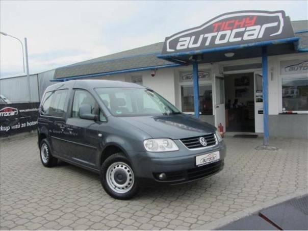 Volkswagen Caddy 2.0 CNG, Klima, ESP, serviska, foto 1 Auto – moto , Automobily | spěcháto.cz - bazar, inzerce zdarma