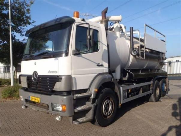 Atego 2528  6x2 sací fekál, foto 1 Užitkové a nákladní vozy, Nad 7,5 t | spěcháto.cz - bazar, inzerce zdarma