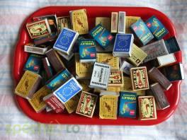 Krabičky od zápalek , Hobby, volný čas, Sběratelství a starožitnosti  | spěcháto.cz - bazar, inzerce zdarma