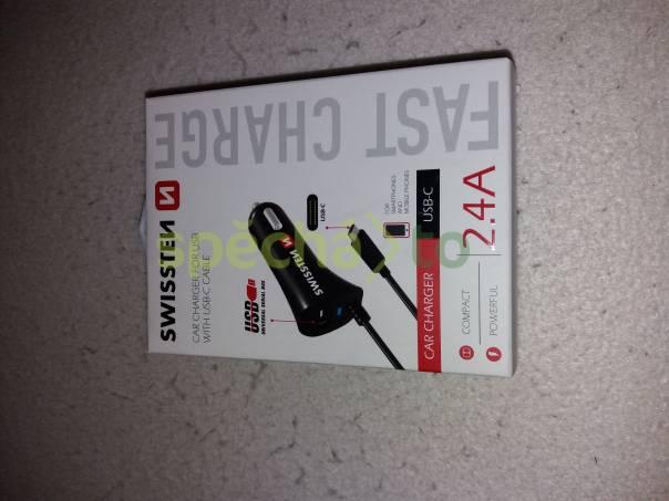 Nabíječka USB - C, do auta, foto 1 TV, audio, video, Propojovací kabely | spěcháto.cz - bazar, inzerce zdarma