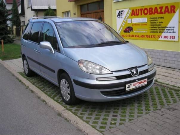 Peugeot 807 2.2 HDi    94kW, foto 1 Auto – moto , Automobily | spěcháto.cz - bazar, inzerce zdarma