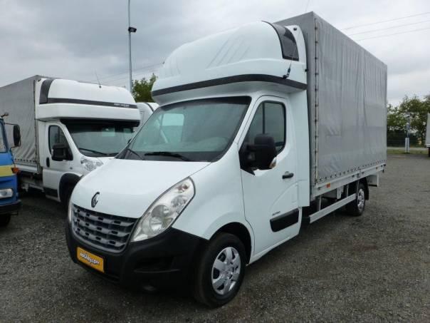 Renault Master valník 4,3m plachta + spaní, foto 1 Užitkové a nákladní vozy, Do 7,5 t | spěcháto.cz - bazar, inzerce zdarma