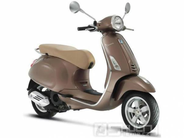 Vespa  Primavera 125 3V Lem - barva hnědá, nový skútr, foto 1 Auto – moto , Motocykly a čtyřkolky | spěcháto.cz - bazar, inzerce zdarma