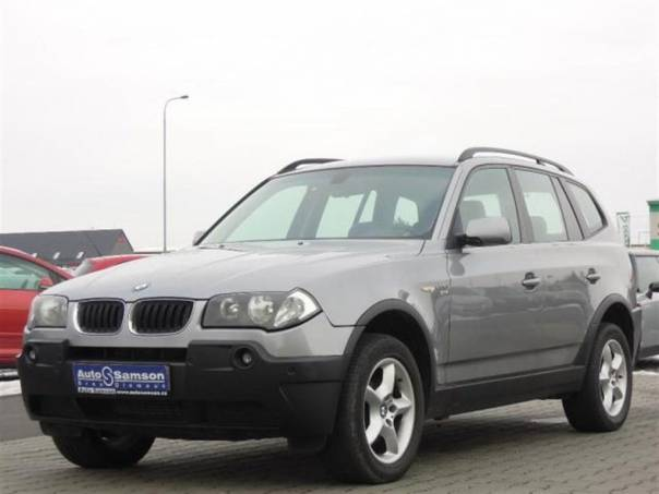 BMW X3 2.0 D *AUTOKLIMA*DSC*, foto 1 Auto – moto , Automobily | spěcháto.cz - bazar, inzerce zdarma