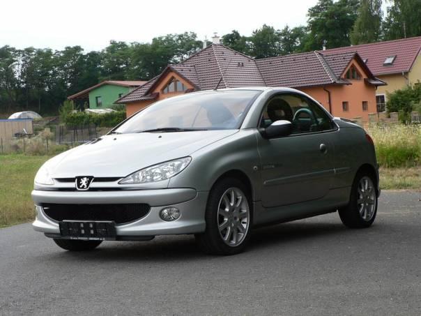 Peugeot 206 CC 1.6i 16V,Alu,110PS, Quiksilver, foto 1 Auto – moto , Automobily | spěcháto.cz - bazar, inzerce zdarma