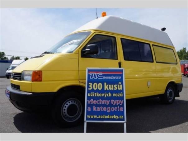 Volkswagen Transporter 2,5 TDI SYNCRO DÍLNA, foto 1 Užitkové a nákladní vozy, Do 7,5 t | spěcháto.cz - bazar, inzerce zdarma