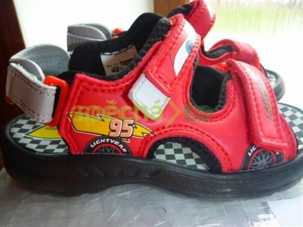 Sandálky Cars Blesk Mc Queen Disney - nové - Sleva 50 ... 6c879ee59c1