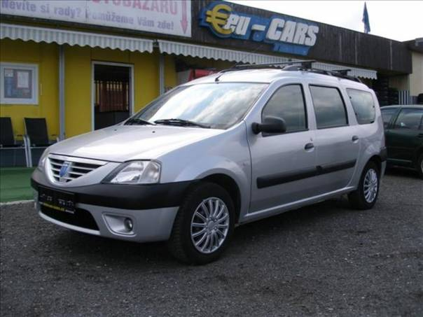 Dacia Logan 1,6   ABS,KLIMA,7 MÍST, foto 1 Auto – moto , Automobily | spěcháto.cz - bazar, inzerce zdarma