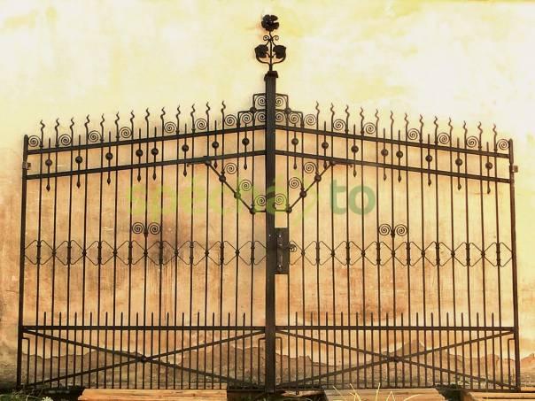 Kovová umelecká brána, foto 1 Zahrada, zahradní příslušenství, Venkovní nábytek | spěcháto.cz - bazar, inzerce zdarma