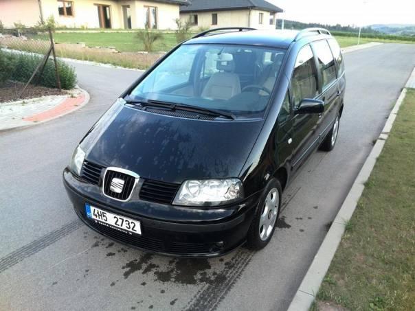 Seat Alhambra 1,9TDI, klima, park senzory, foto 1 Auto – moto , Automobily | spěcháto.cz - bazar, inzerce zdarma
