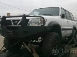 Nissan Patrol Y61 - rozprodám na náhradní díly