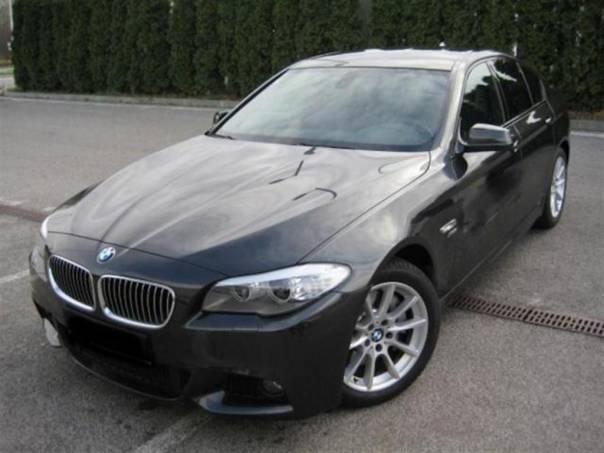 BMW Řada 5 525d xDrive Mpaket 160kW Black, foto 1 Auto – moto , Automobily | spěcháto.cz - bazar, inzerce zdarma
