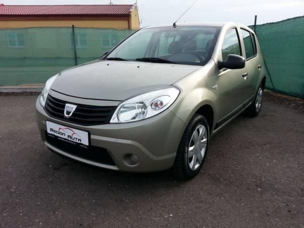 Dacia Sandero 1.6i 64 kW Ambiance Plus, foto 1 Auto – moto , Automobily   spěcháto.cz - bazar, inzerce zdarma