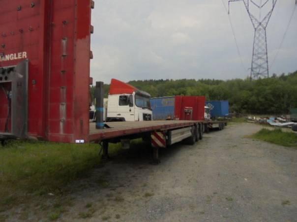 Hangler  Lowdeck, foto 1 Užitkové a nákladní vozy, Přívěsy a návěsy | spěcháto.cz - bazar, inzerce zdarma