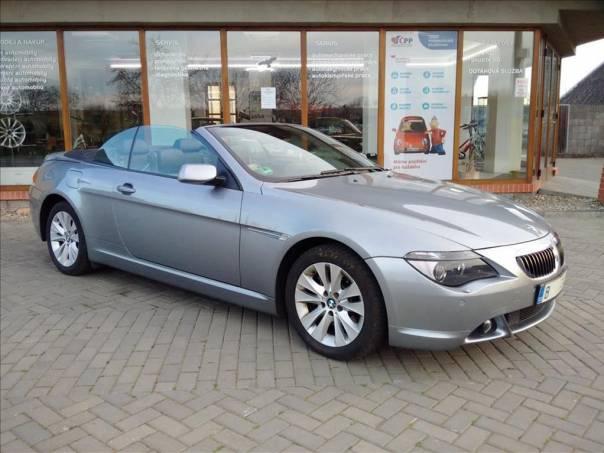 BMW Řada 6 4,4   645 CI AUT., foto 1 Auto – moto , Automobily | spěcháto.cz - bazar, inzerce zdarma