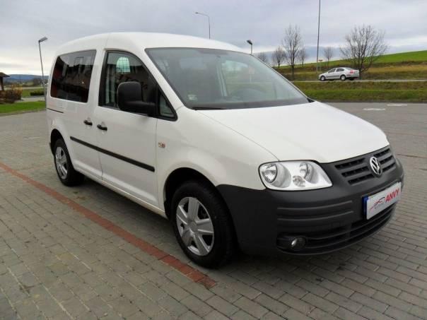 Volkswagen Caddy 1,6i LPG, KLIMA, 5-MÍST, foto 1 Auto – moto , Automobily | spěcháto.cz - bazar, inzerce zdarma