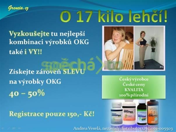 Zhubla 17 kilo !!! Zkušenost uživatele výrobků OKG - využijte SLEVU 40-50% na všechny výrobky, foto 1 Móda a zdraví, Kosmetika | spěcháto.cz - bazar, inzerce zdarma