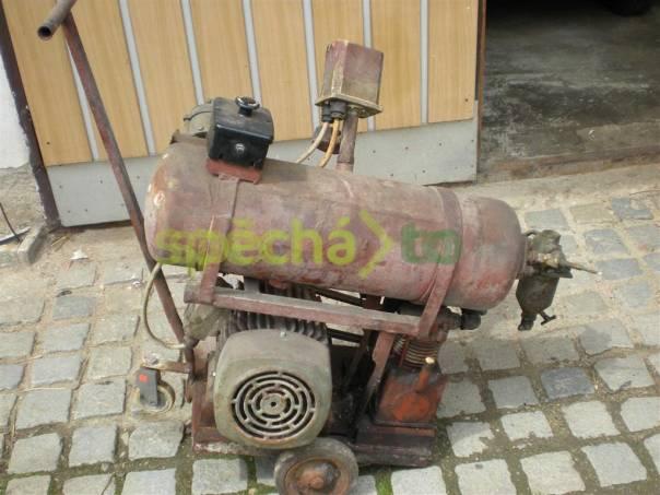 Vzduchový kompresor, motor 3 kW, přetlak 12 atmosfér, foto 1 Dům a zahrada, Dílna | spěcháto.cz - bazar, inzerce zdarma