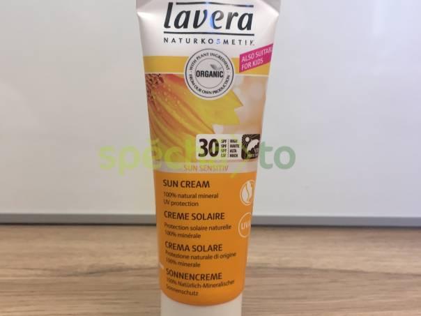 Opalovací krém Lavera Sun Sensitiv Bio SPF 30 70ml - sleva 179 Kč, foto 1 Kosmetika, Péče o tělo | spěcháto.cz - bazar, inzerce zdarma