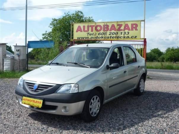 Dacia Logan 1.6i Klima 1.majitel, foto 1 Auto – moto , Automobily | spěcháto.cz - bazar, inzerce zdarma