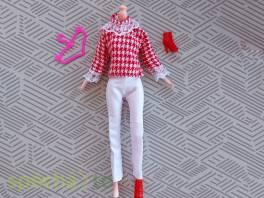 NOVÉ! Set pro panenku Barbie, halenka + kalhoty + boty + ramínko , Pro děti, Hračky  | spěcháto.cz - bazar, inzerce zdarma