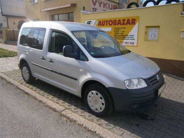 Volkswagen Caddy 1,9 TDI  LIFE KLIMA, foto 1 Auto – moto , Automobily | spěcháto.cz - bazar, inzerce zdarma