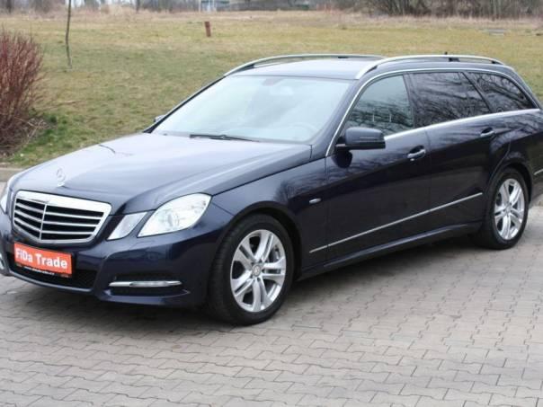 Mercedes-Benz Třída E 220CDi Avantgarde,BlueEFFICIENCY, foto 1 Auto – moto , Automobily | spěcháto.cz - bazar, inzerce zdarma